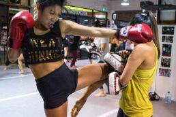 women's only kickboxing vancouver