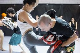 womens kickboxing vancouver