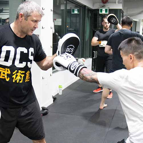 Manny Sobral teaches boxing classes at Diaz Combat Sports in Vancouver