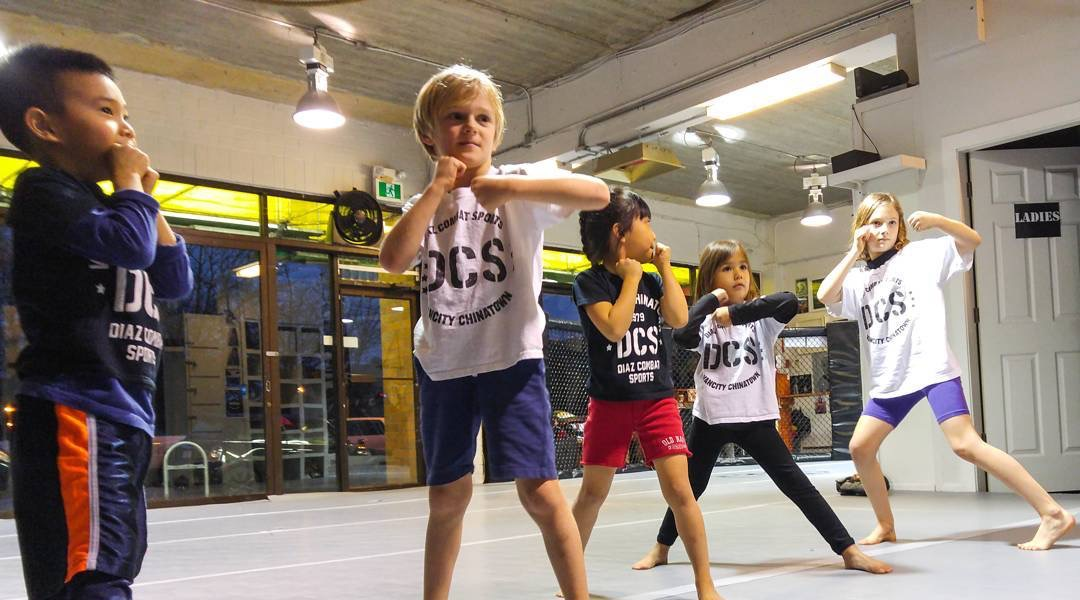 Kids kickboxing classes Vancouver