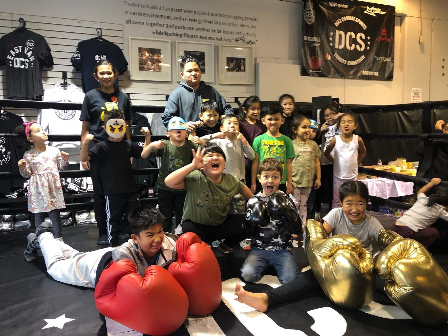 Kids kickboxing Vancouver is fun