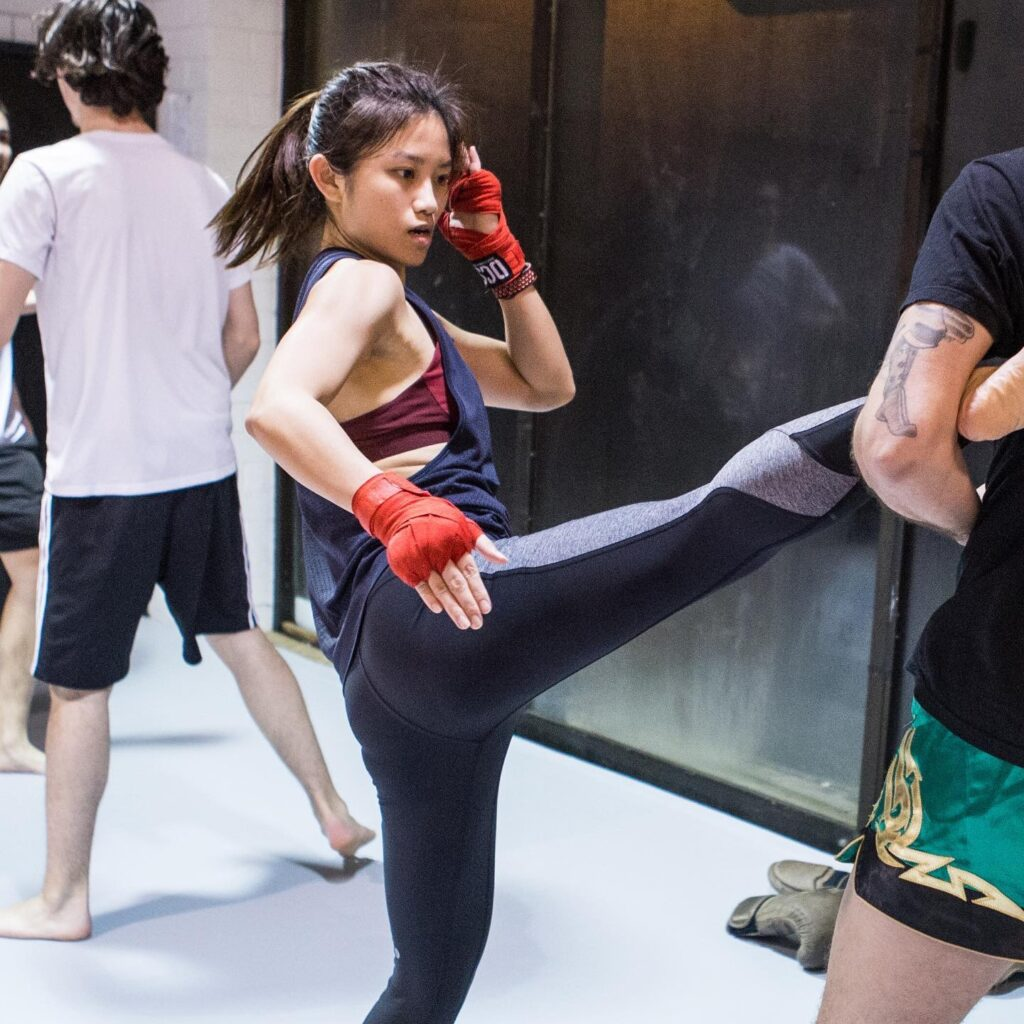 Muay Thai for weight loss
