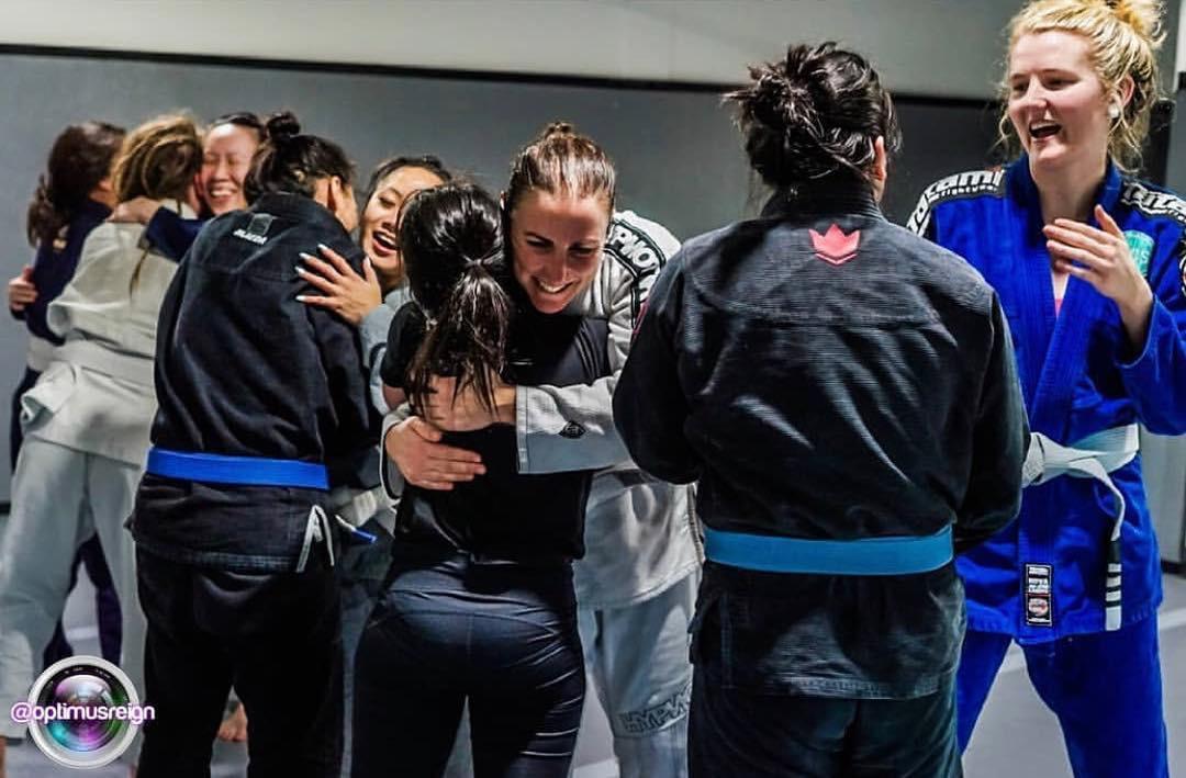 after jiu-jitsu Vancouver class