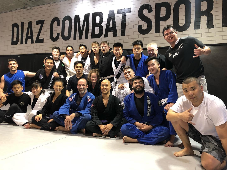 Brazilian Jiu-Jitsu Class At Diaz Combat Sports