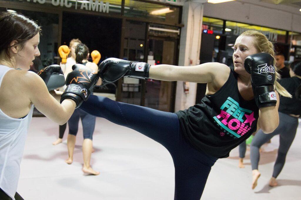 Kickboxing class Vancouver